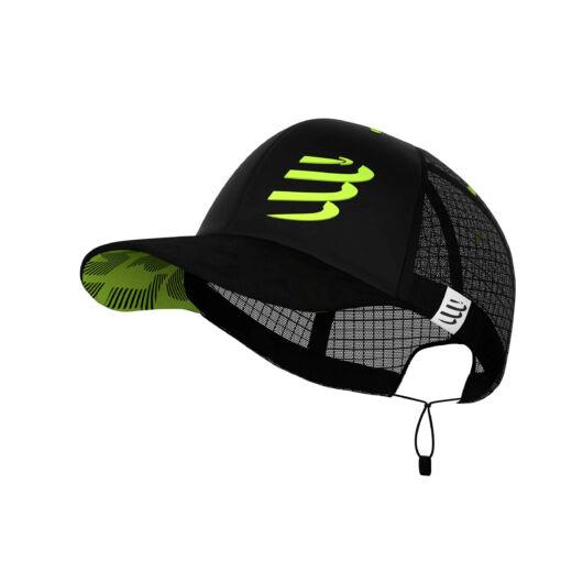 Compressport RACING TRUCKER CAP fekete baseball sapka