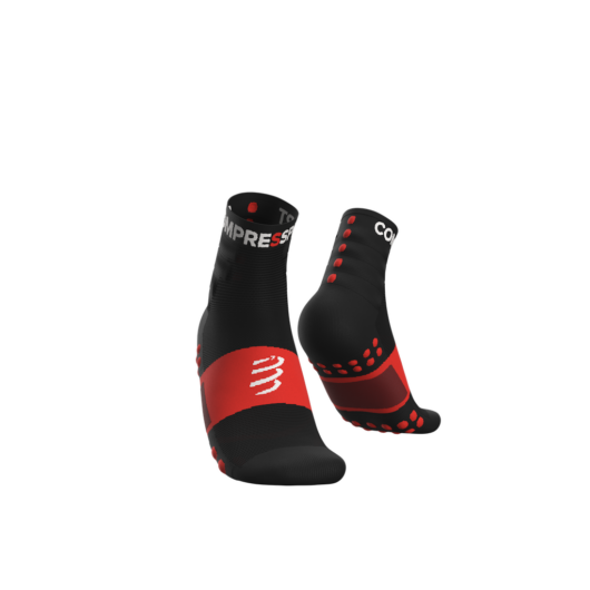 Compressport Training fekete sportzokni csomag (2-pár) T4
