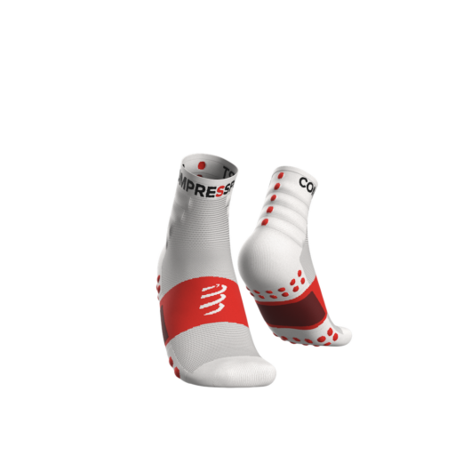 Compressport Training fehér sportzokni csomag (2-pár) T3