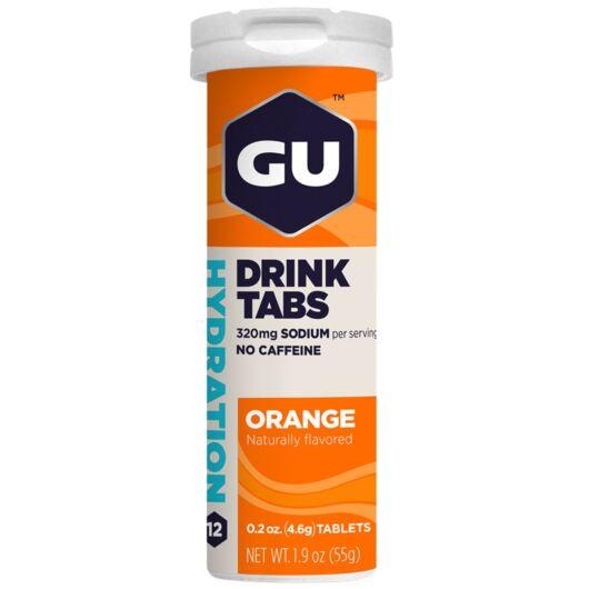 GU Hydration Drink Tabs narancs izű pezsgőtabletta