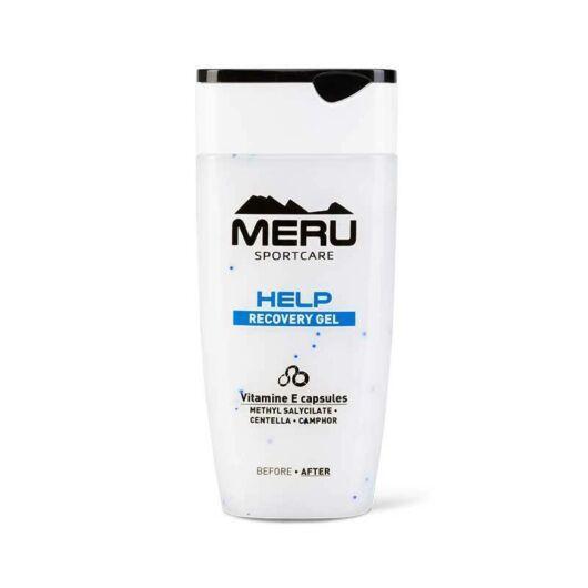 MERU. HELP - enyhítő, helyreállító, izomlazító gél - fájó, túlerőltetett testrészek ápolására