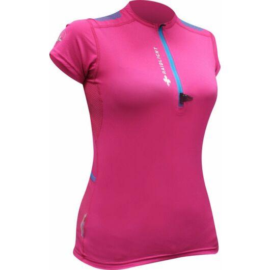 RaidLight RESPONSIV WOMEN'S SHORT-SLEEVED TOP - pink, női rövidujjú sportfelső S