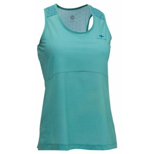 RaidLight ACTIV RUN WOMEN'S TANK - zöld, női atléta XS