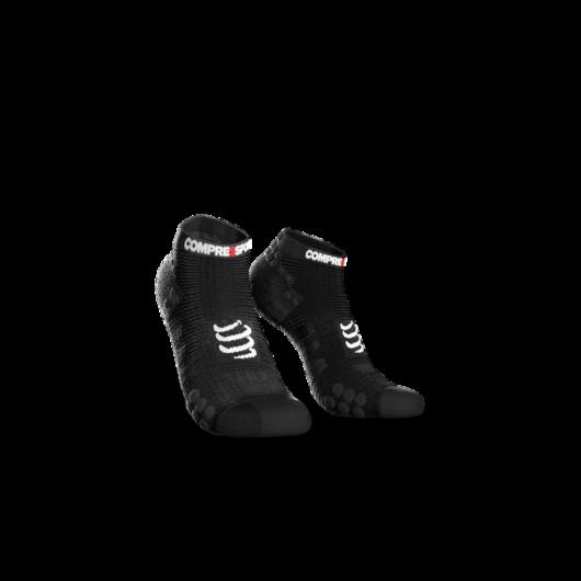 Compressport Pro Racing Socks v3.0 Run fekete titokzokni T3
