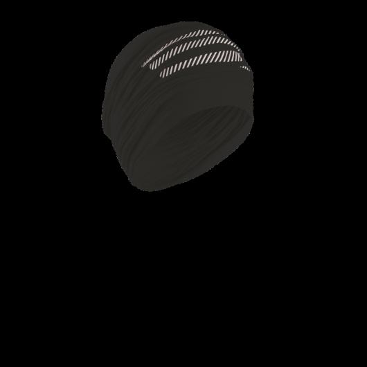 Compressport Headtube - fekete csőkendő