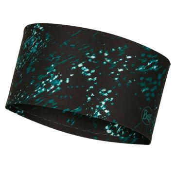 BUFF® CoolNet® UV+ Headband Speckle - fekete pettyes fejpánt