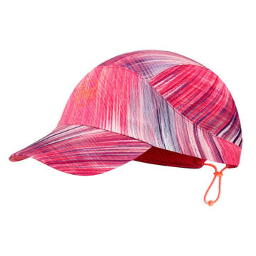 BUFF® Pack Run Cap Patterned Pixel Pink sportsapka S/M