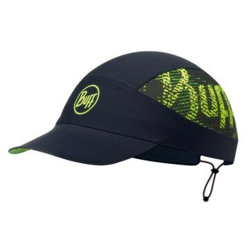 BUFF® Pack Run Cap R-Flash Logo - fekete sportsapka