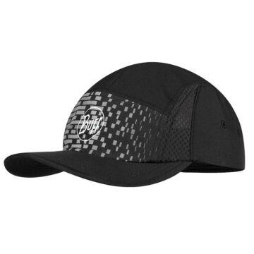 BUFF® Run Cap R-Natron fekete sportsapka