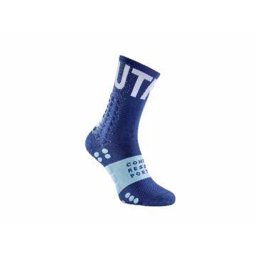 Compressport Pro Racing Socks V3.0 Ultra Trail UTMB 2020 limitált kiadású terepfutó zokni