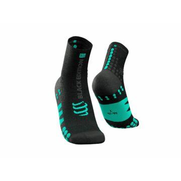Compressport Pro Racing Socks v3.0 Run Black Edition 2021 bokazokni