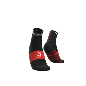 Compressport Training fekete sportzokni csomag (2-pár)