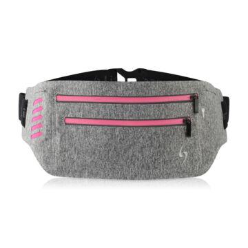 Life Sports Gear CLOUD cippzáras pink sport-övtáska