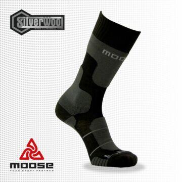 Moose Yeti merino gyapjús sportzokni