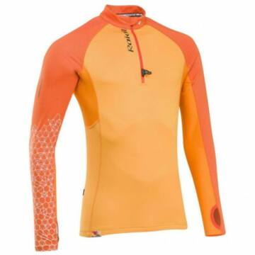 RaidLlight Performer Top XP - hosszú ujjú narancs férfi sportfelső M