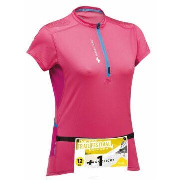 RaidLight WOMEN'S PERFORMER TOP - pink, női rövidujjú sportfelső