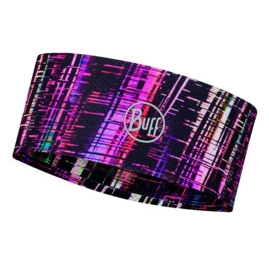 BUFF® Fastwick Headband Wira Black - fényvisszeverős mintás fejpánt