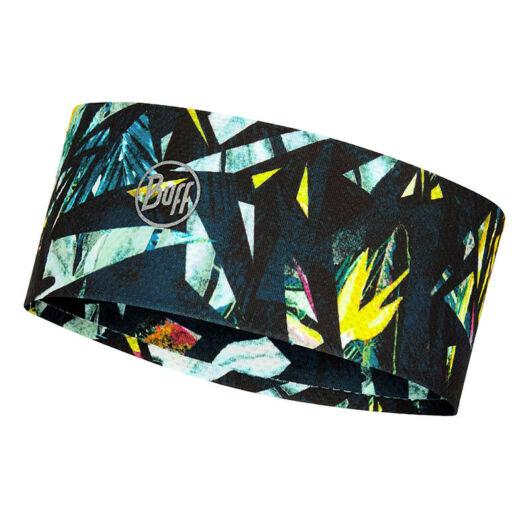BUFF® Fastwick Headband Ipe Navy - mintás, fényvisszaverős fejpánt