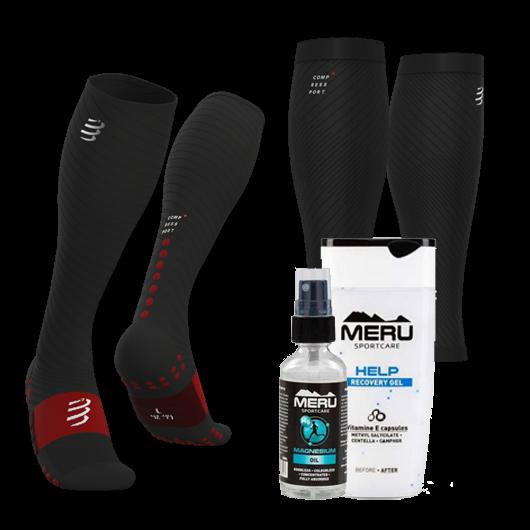 Compressport-MERU regeneráló csomag