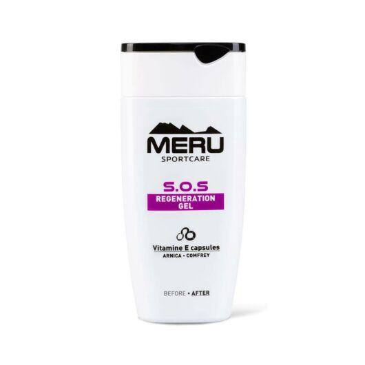 MERU S.O.S - regeneráló gél - sportsérülések, duzzadt bőrtünetekre, kék foltokra 150 ml