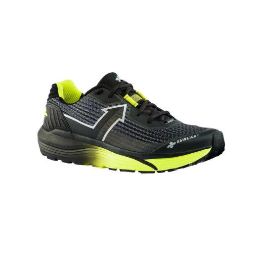 RaidLight Responsiv Ultra fekete/citromzöld terepfutó cipő EUR44 méret