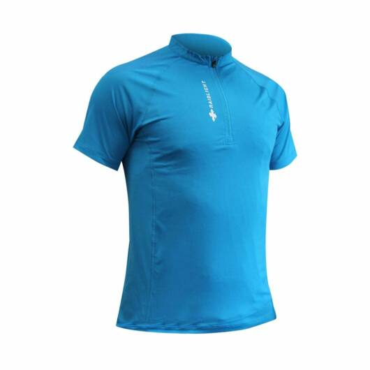RaidLight Activ Run SS Shirt - rövidujjú kék sportfelső M