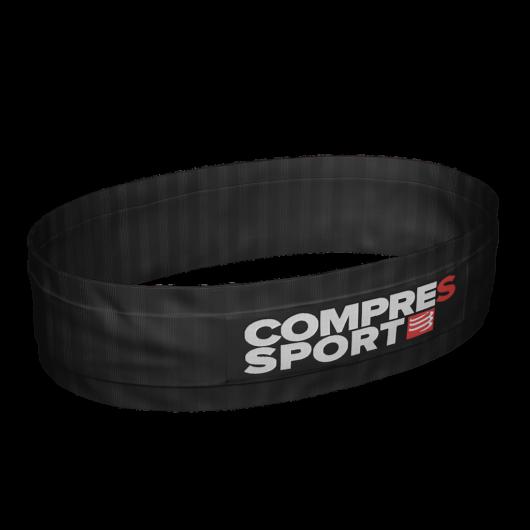 Compressport Free Belt fekete sportöv, futóöv XL/XXL